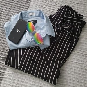 Striped Business slacks
